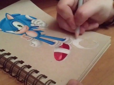 How to Draw Sonic The Hedgehog by Acer