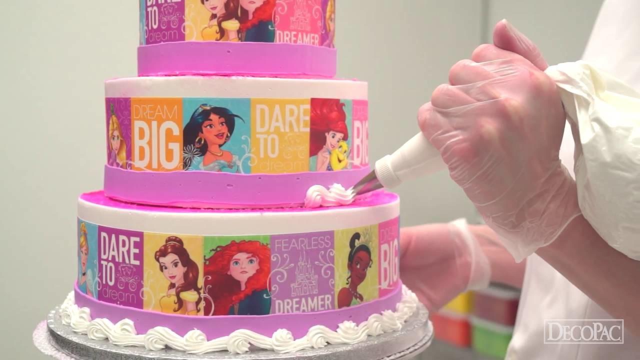 How to Make a Disney Princess Dream Big, Princess Cake