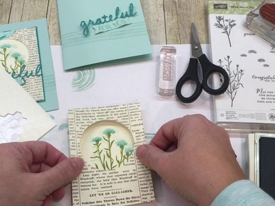 How to make a Grateful For You Card
