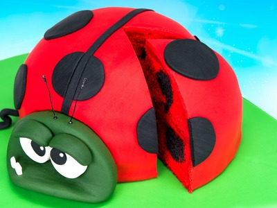 How to Make a Ladybug Cake (Bob from Best Fiends)