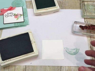 How to make a Swirly Bird Card (Stampin Up's new catalog Preview)