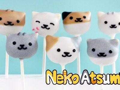 How to Make Cat Cake Pops - Neko Atsume!