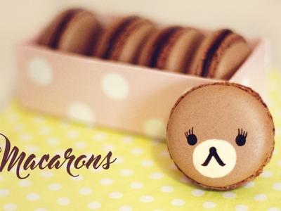How to Make Chocolate Macarons