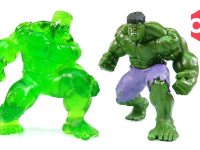 How to make Gummy Hulk !! DIY Avengers Hulk Jelly - With Hulkbuster