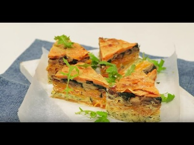 How to Make Layered Vegie Bake | Woolworths