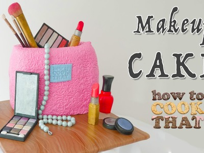 MAKEUP CAKE How To Cook That Ann Reardon make up birthday cake