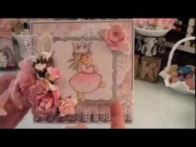 (3) Magnolia Tilda Handmade Cards