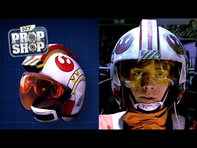 Build Your Own X-Wing Helmet - DIY Prop Shop