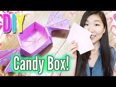 CANDY BOX ORIGAMI ║ Perfect DIY for Valentines Day!