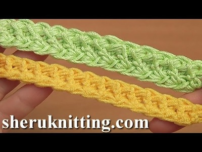 Crochet Cord With Puff Stitch Tutorial 100 Romanian Point Lace