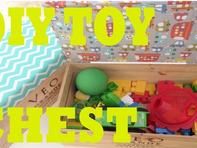 D.I.Y Toy Chest. Seat