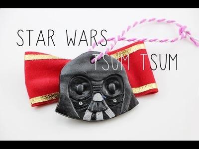Darth Vader Tsum Tsum Polymer Clay Christmas Ornament Tutorial {Collab w.Polymomotea}