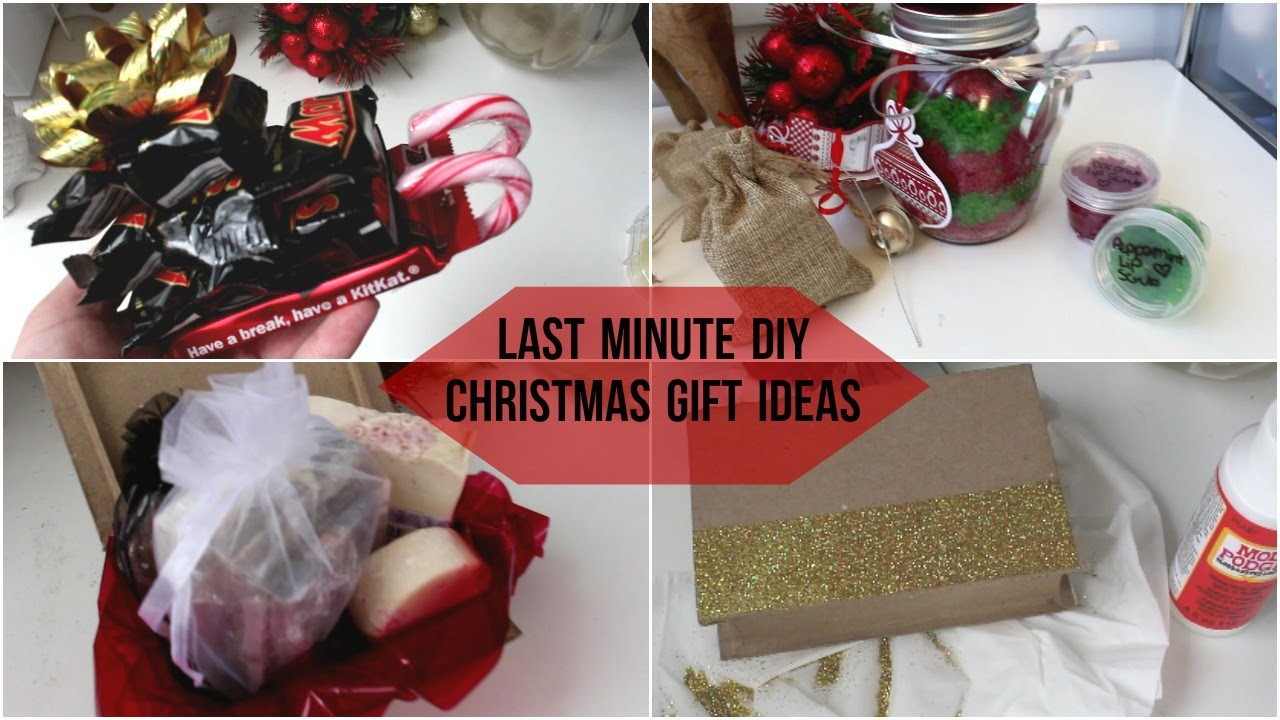 DIY Christmas Gifts Ideas - Last Minute