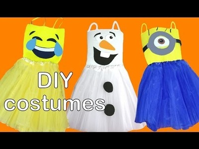 DIY easy tutu costumes