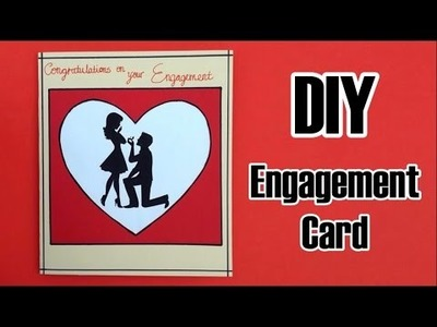 DIY Engagement Card | Silhouette