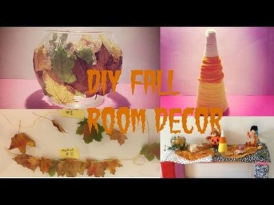 DIY: Fall room decor