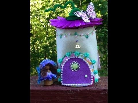DIY Felt Fairy House