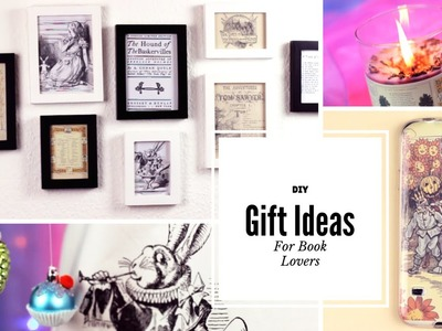 DIY: Gift Ideas for Book Lovers