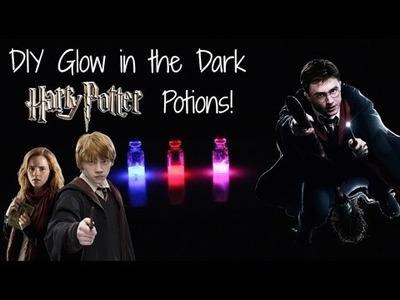 DIY Glow in the Dark Harry Potter Potions!