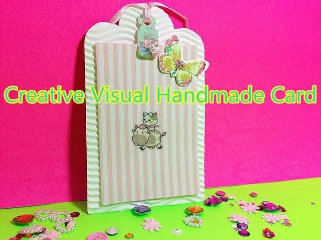 DIY Grußkarten Delicate mini kreative Handarbeit Fun Lehrplan 00945+de