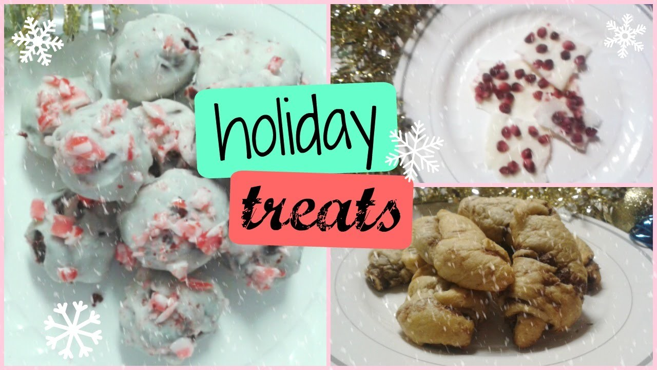 DIY Holiday Treats: Peppermint Cake Balls, Nutella Crescents and more.