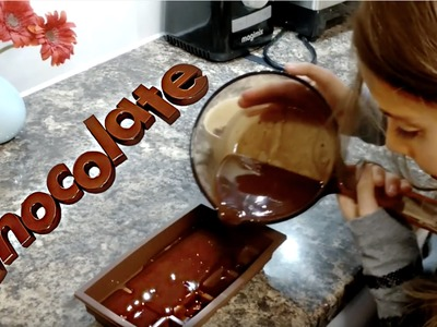 DIY  Homemade Chocolates for Kids
