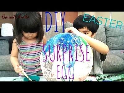 DIY HOW TO make a GIANT easter SURPRISE EGG | PINTEREST TEST | KID vs PIN