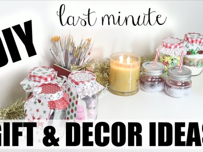 DIY Last Minute Gift & Decor Ideas!