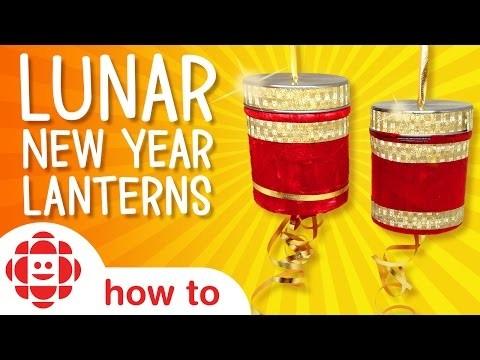 DIY Lunar New Year Lanterns | Monkey Makes | Crafts For Kids