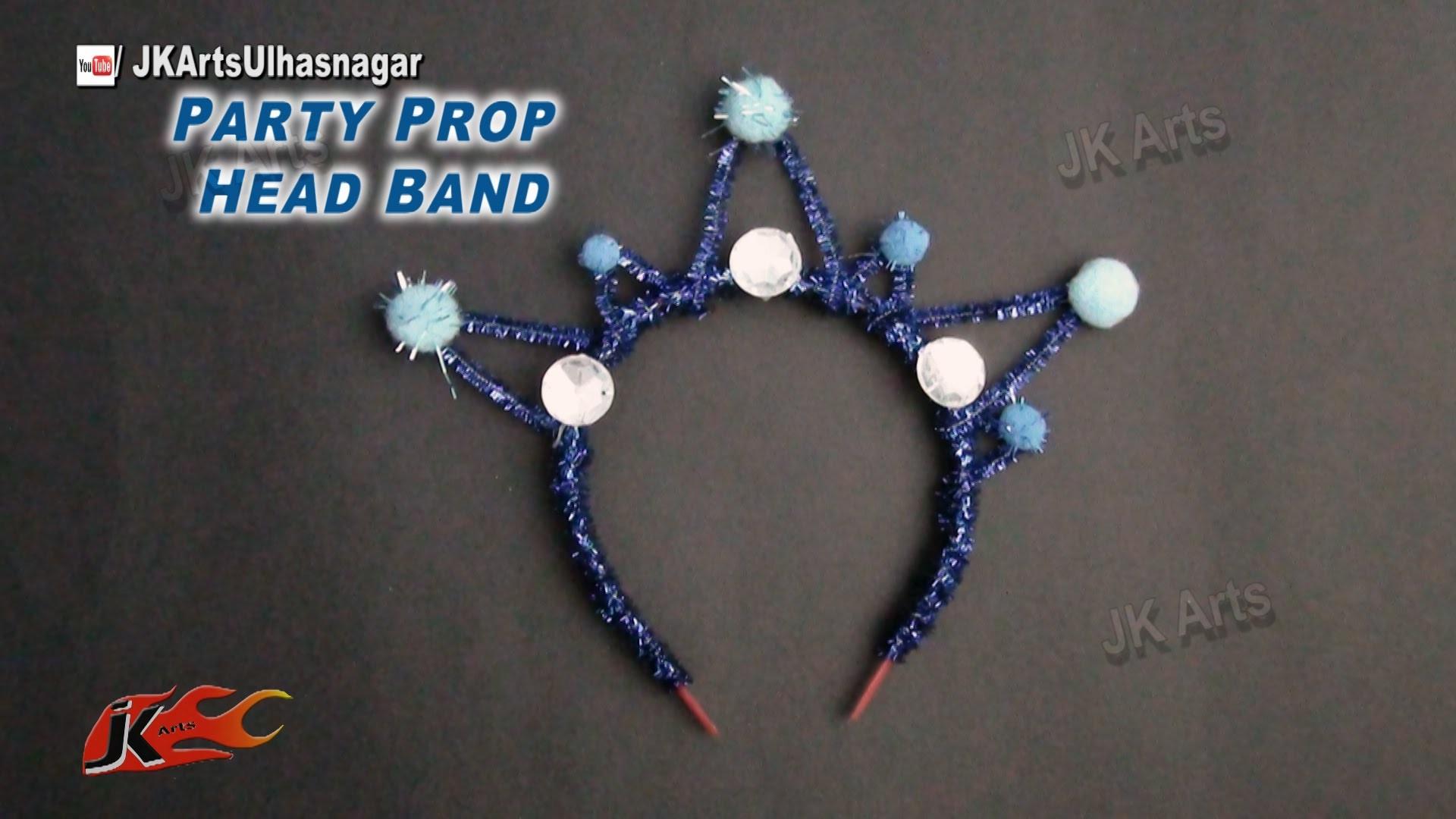 DIY Party Prop Hairband.Headband for New Year, Christmas, Birthday | JK Arts 808