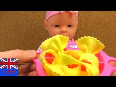 DIY Pasta | Tutorial : How to Make Noodles out of Felt | Easy Felt Pasta for Baby or Toy Shop