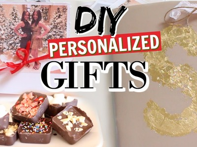 DIY Personalized Gifts for the Holidays!