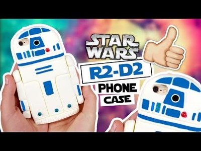 DIY | R2-D2 from Star Wars Phone Case Tutorial