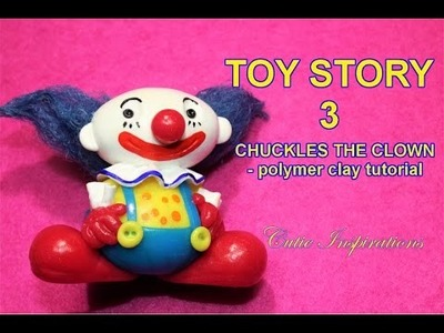 DIY Toy Story 3 Chuckles the clown -  Polymer clay tutorial