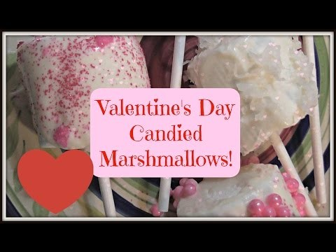 DIY Valentine's Day Candy Marshmallows!