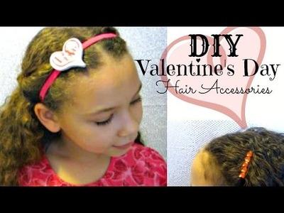 DIY Valentine's Day Hair Accessories