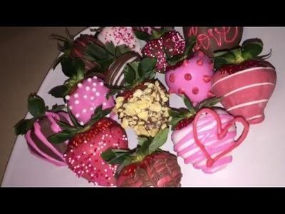 DIY Valentine's Strawberries