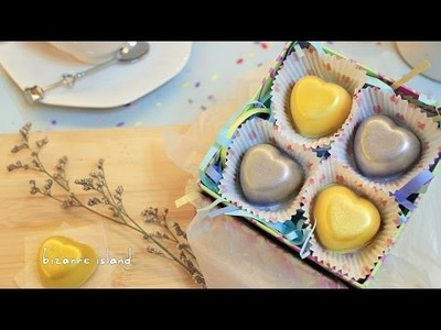 DIY Wasabi White Chocolate Heart Truffles   d for delicious