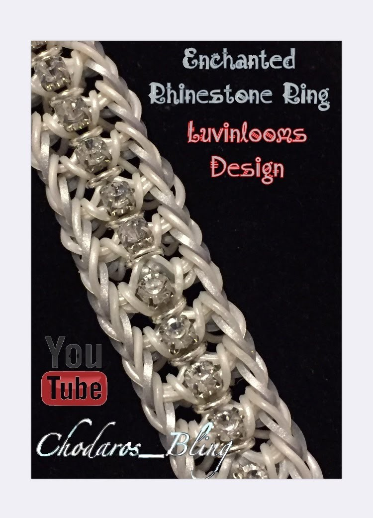 Enchanted Rhinestone Ring Bracelet (Hook only) How to Tutorial