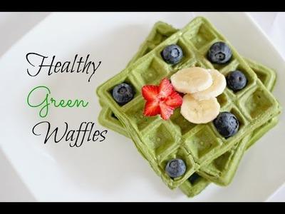 Healthy Waffles DIY - No Flour, No Sugar !