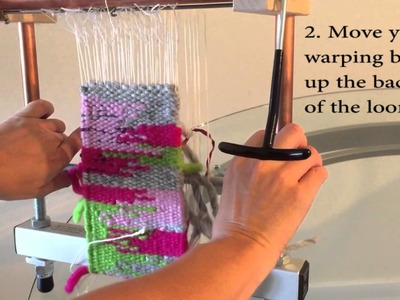 How To Advance Your Weaving on a Mirrix Loom