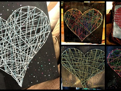 How To Do String Art. .#1 Project