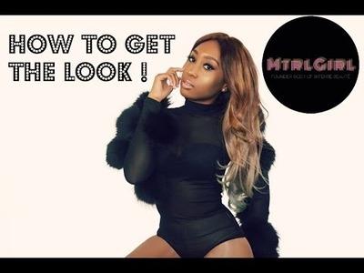 HOW TO GET THE LOOK | DIY POMPOM BODYSUIT