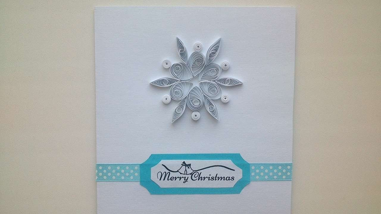 How To Make A Nice Quilled Christmas Card - DIY Crafts Tutorial - Guidecentral