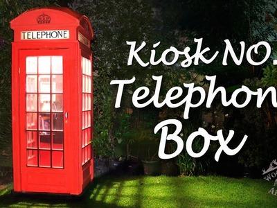 How to make an English Telephone Box! - Ep 031