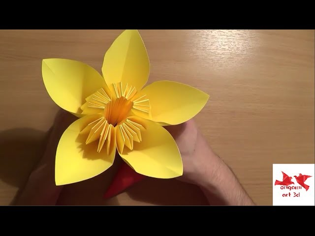 How To Make Paper Flower Tutorial