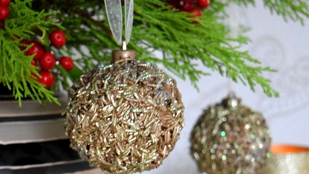 How To Turn Old Decorations Into A New Ornament - DIY Home Tutorial - Guidecentral