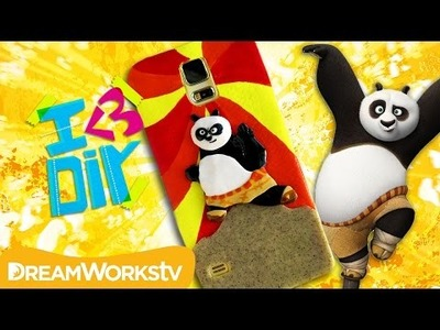 Kung Fu Panda 3 Phone Case Tutorial with Coolricebunnies | I ♥ DIY