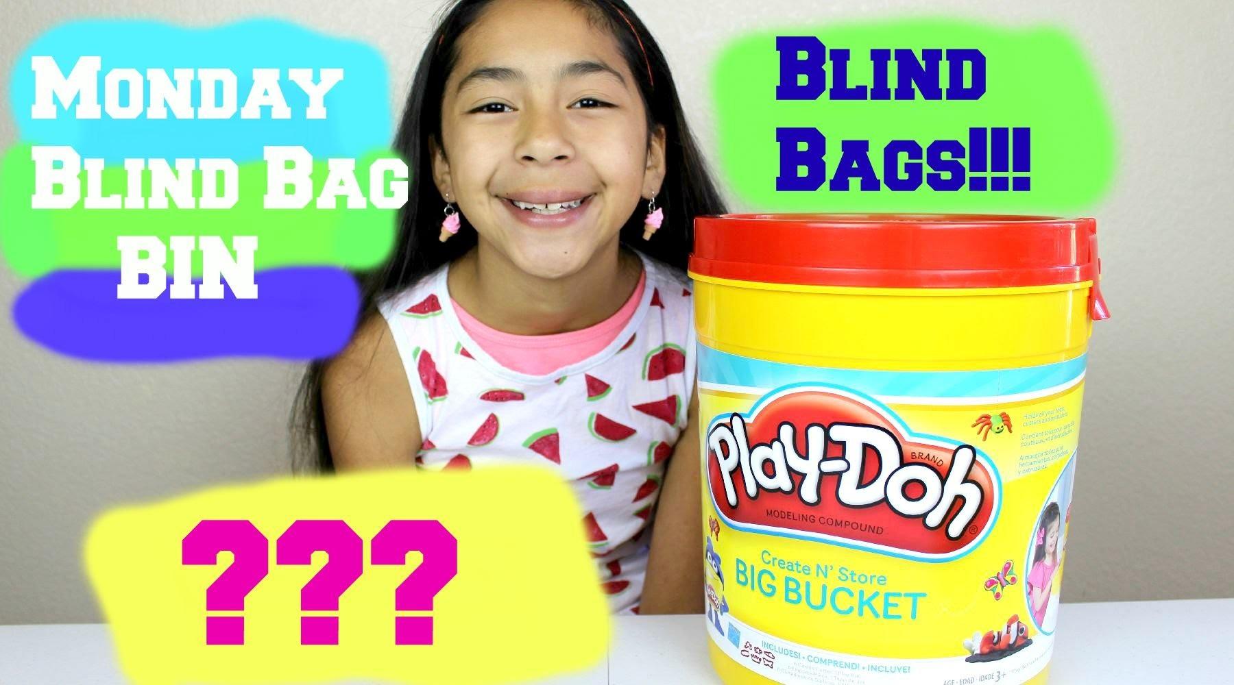 Monday Blind Bag Bin  BLIND BAGS!!! Kinder Joy LPS Shopkis| Care Bears | B2cutecupcakes