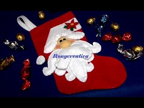 SANTA CLAUS BOOT - CHRISTMAS CRAFT DIY